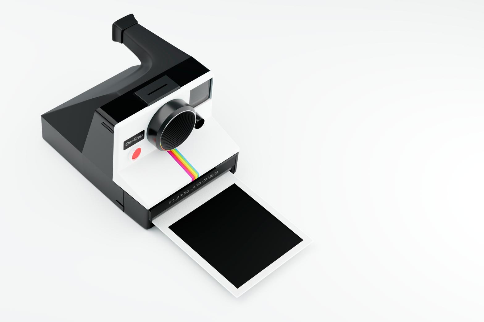 Vintage Poloroid Landcamera 3D Render